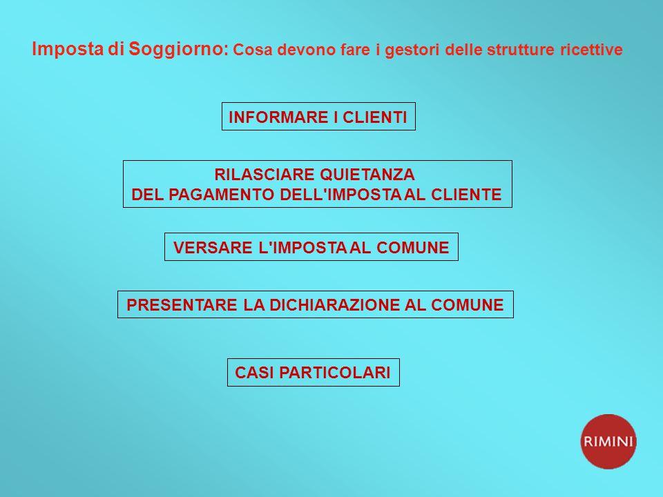 Stunning Imposta Di Soggiorno Rimini Contemporary - Idee Arredamento ...
