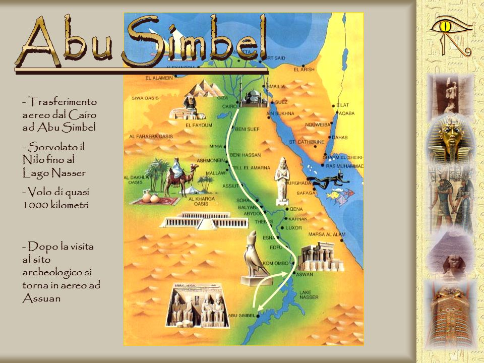 Abu Simbel Trasferimento aereo dal Cairo ad Abu Simbel