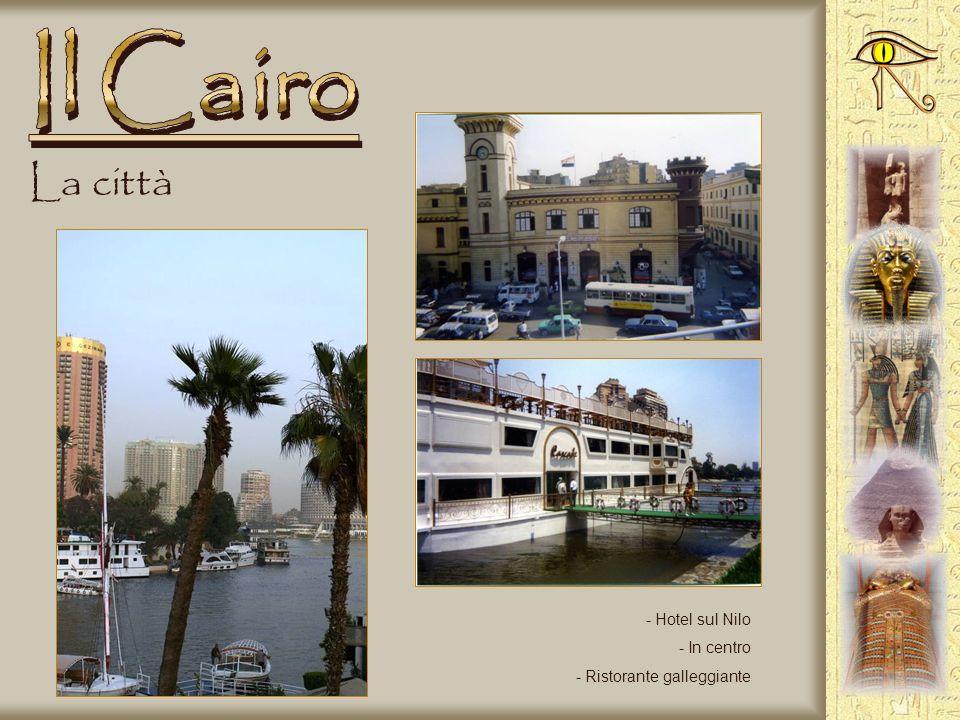 Il Cairo La città Hotel sul Nilo In centro Ristorante galleggiante