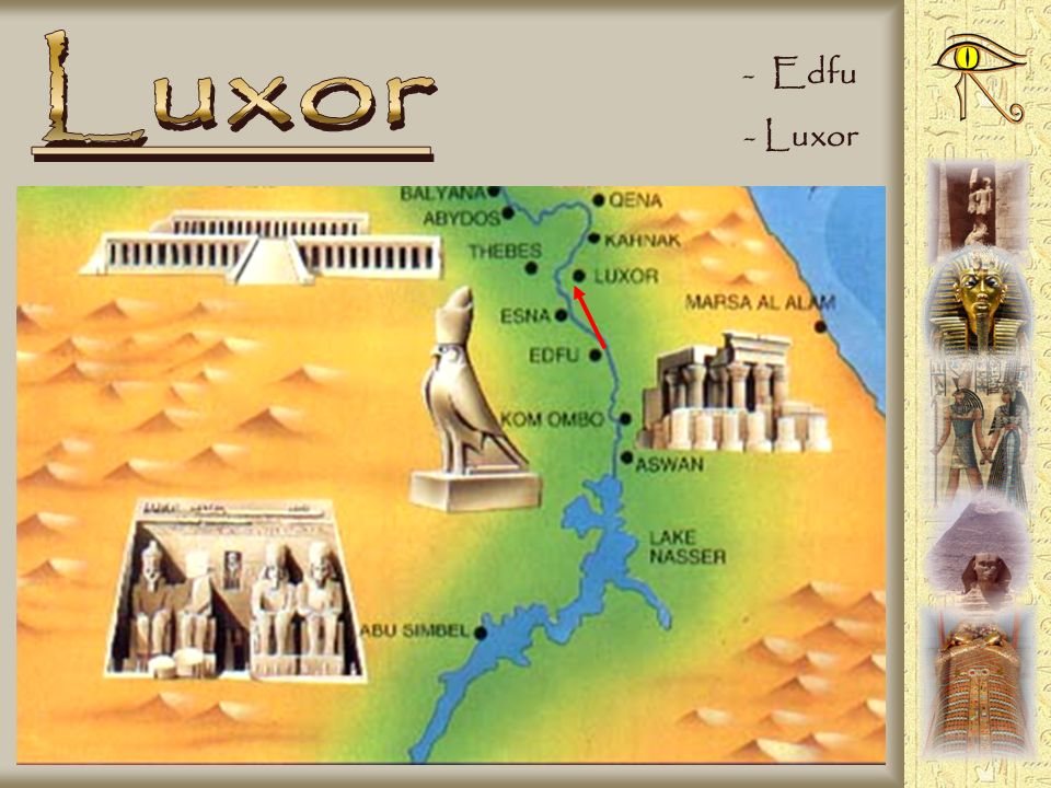 Luxor Edfu Luxor