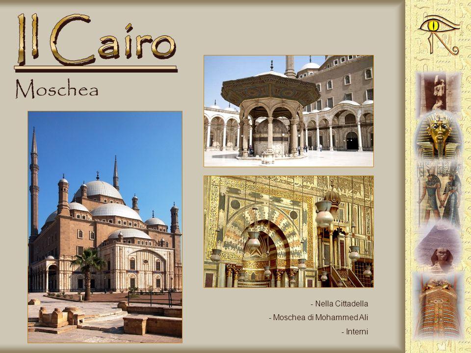 Il Cairo Moschea Nella Cittadella Moschea di Mohammed Ali Interni
