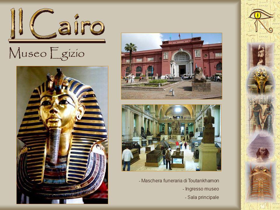 Il Cairo Museo Egizio Maschera funeraria di Toutankhamon