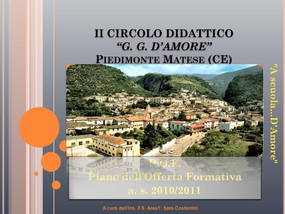 II CIRCOLO DIDATTICO G. G. D'AMORE Piedimonte Matese (CE)