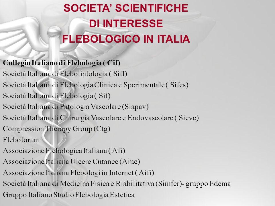 SOCIETA' SCIENTIFICHE