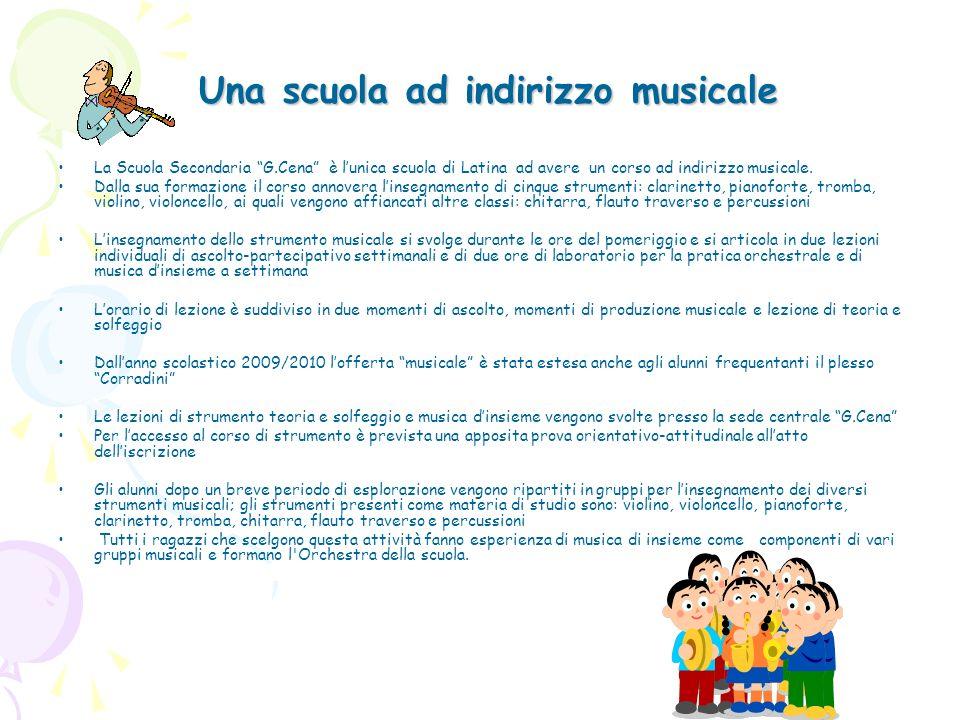 Una scuola ad indirizzo musicale