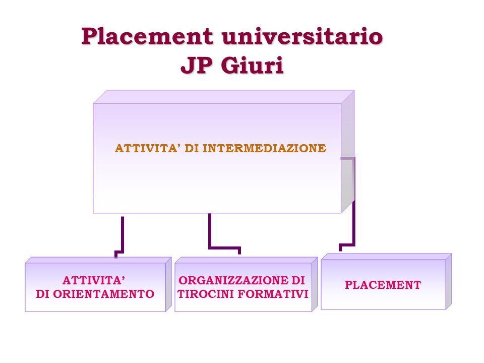 Placement universitario JP Giuri