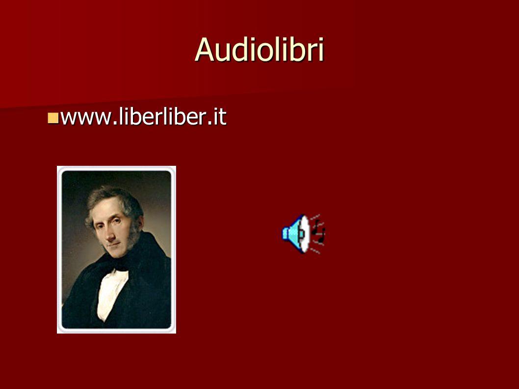 Audiolibri www.liberliber.it