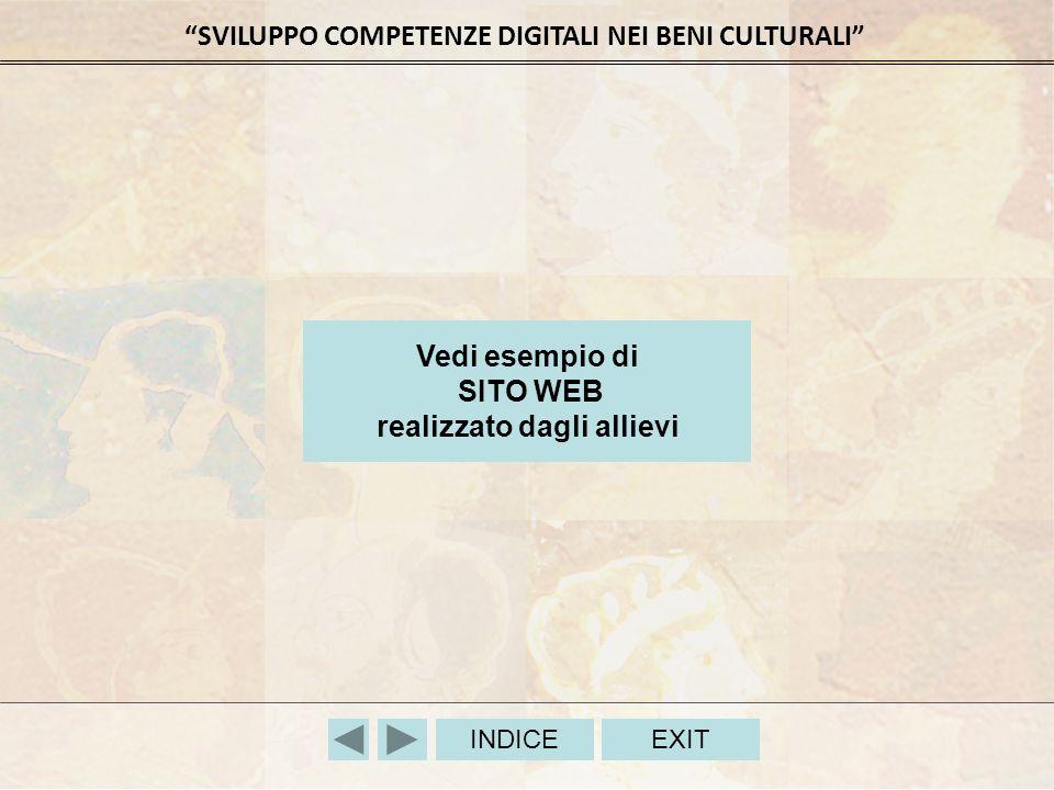 Vedi esempio di SITO WEB realizzato dagli allievi