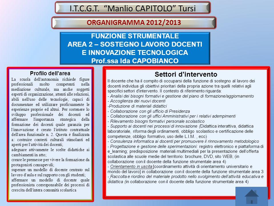 I.T.C.G.T. Manlio CAPITOLO Tursi
