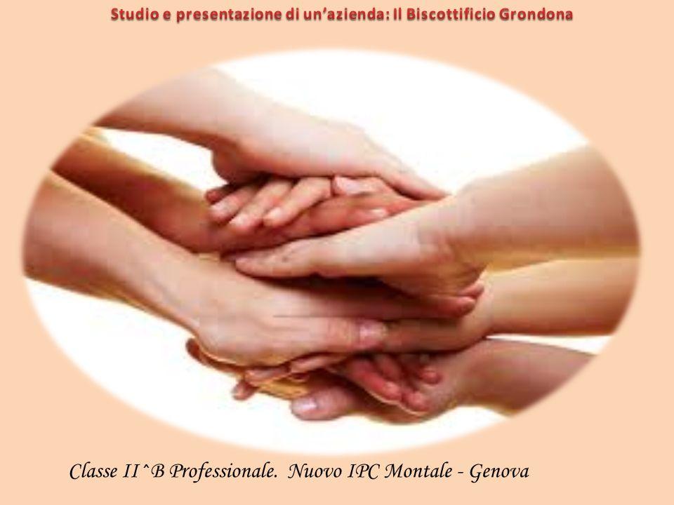 Studio e presentazione di un'azienda: Il Biscottificio Grondona