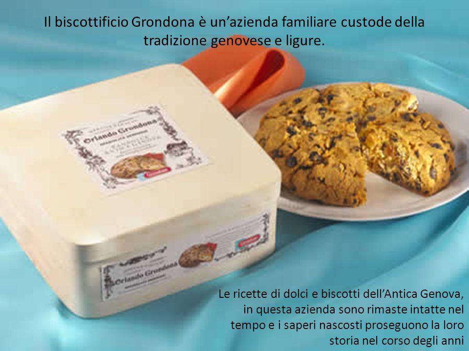 Il biscottificio Grondona è un'azienda familiare custode della tradizione genovese e ligure.