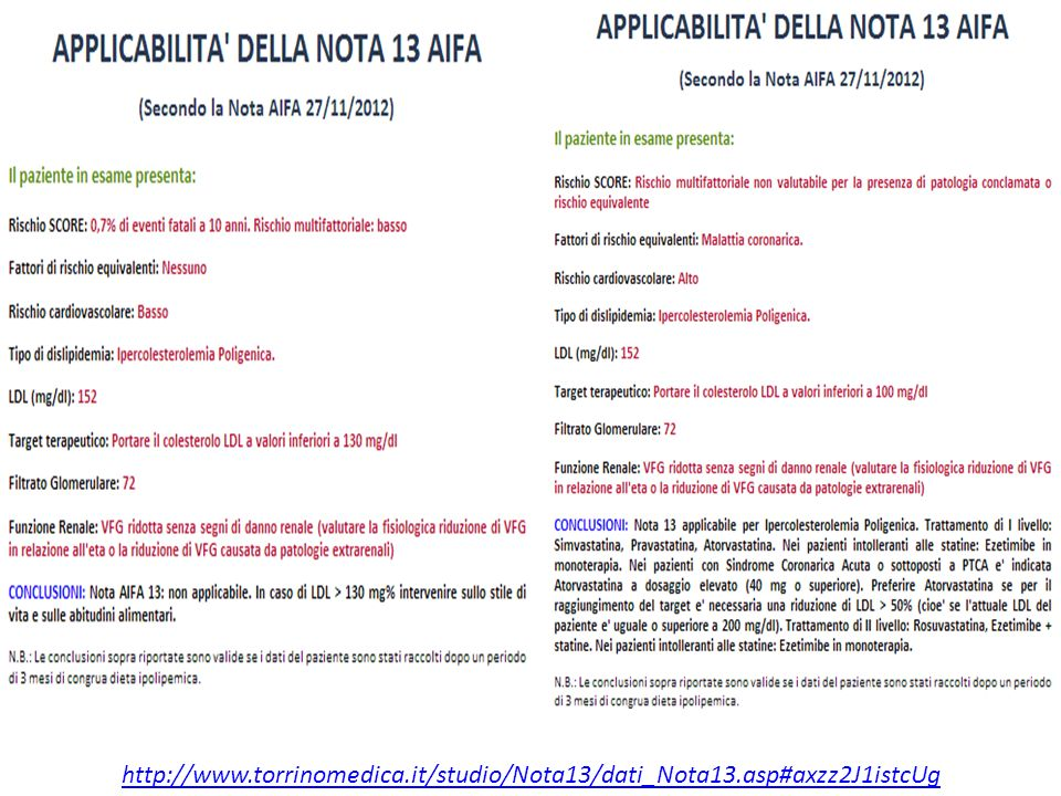 http://www. torrinomedica. it/studio/Nota13/dati_Nota13