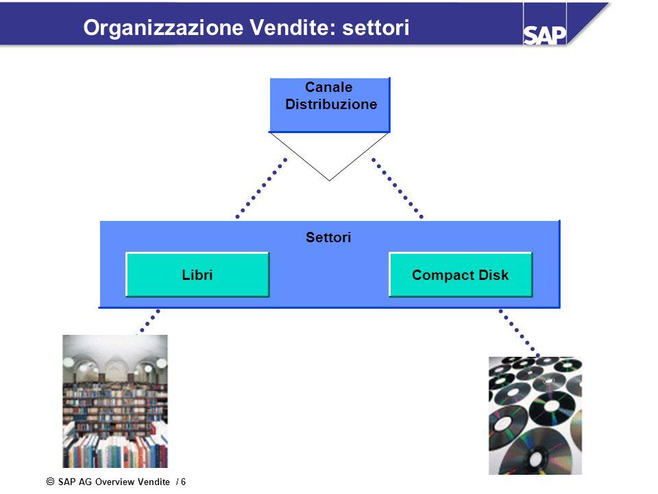 Organizzazione Vendite: settori