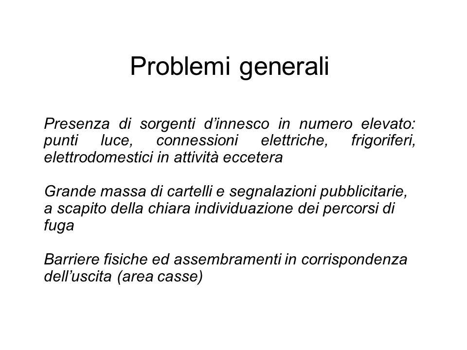 Problemi generali