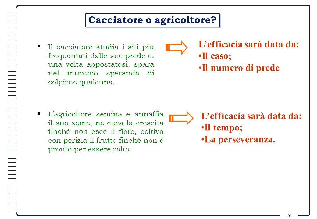 Cacciatore o agricoltore