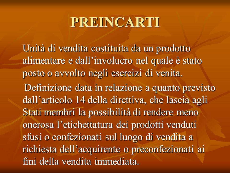 PREINCARTI
