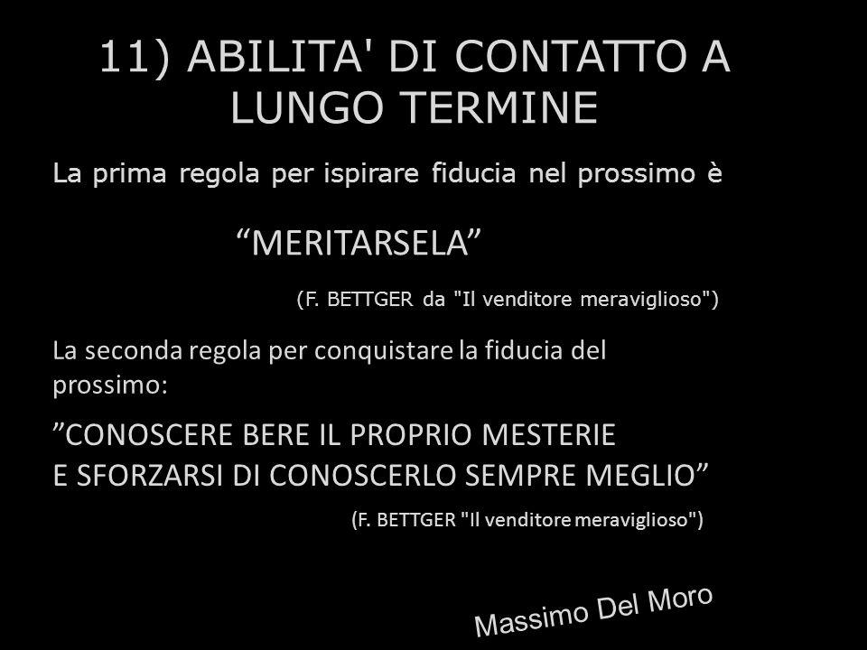 11) ABILITA DI CONTATTO A LUNGO TERMINE