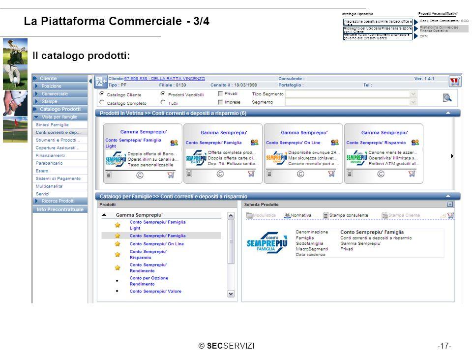 La Piattaforma Commerciale - 3/4
