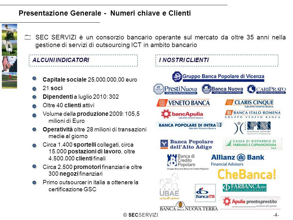 Presentazione Generale - Numeri chiave e Clienti