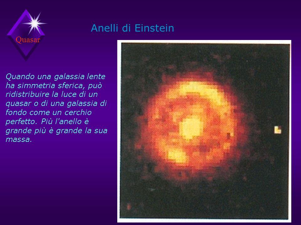 Anelli di Einstein Quasar