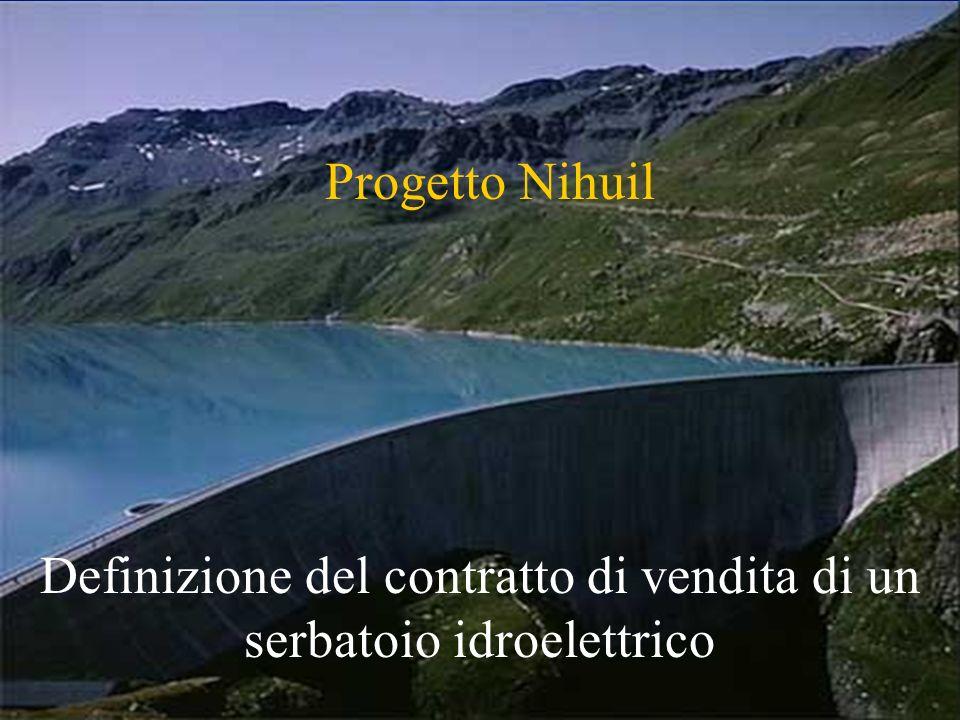 Definizione del contratto di vendita di un serbatoio idroelettrico