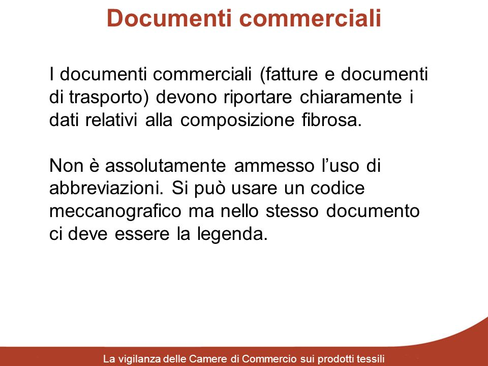 Documenti commerciali