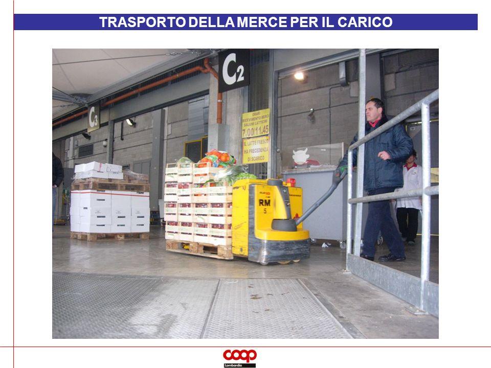 TRASPORTO DELLA MERCE PER IL CARICO