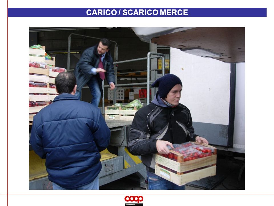 CARICO / SCARICO MERCE