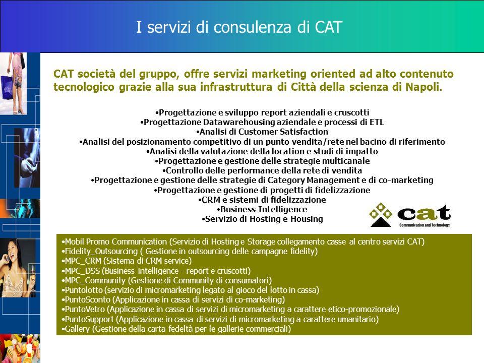 I servizi di consulenza di CAT