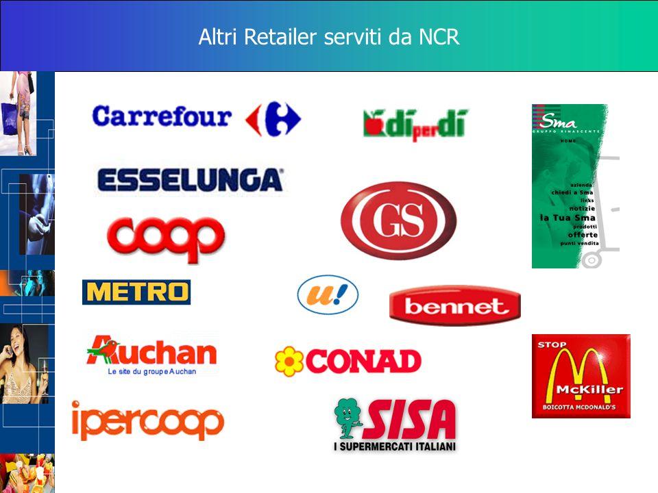Altri Retailer serviti da NCR