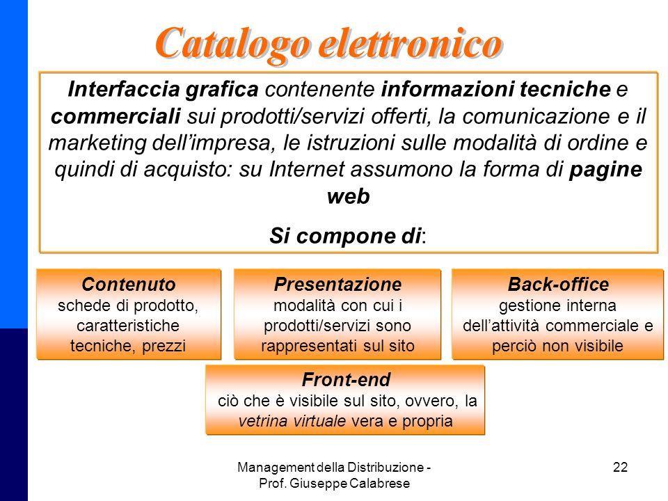 Catalogo elettronico