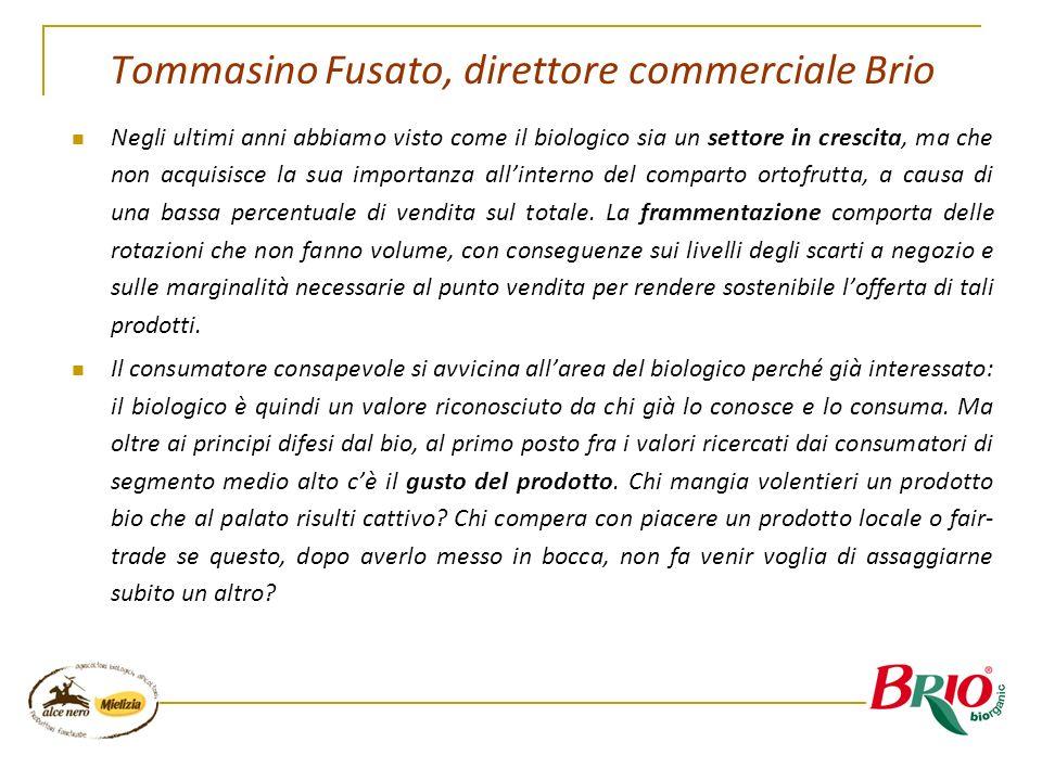 Tommasino Fusato, direttore commerciale Brio