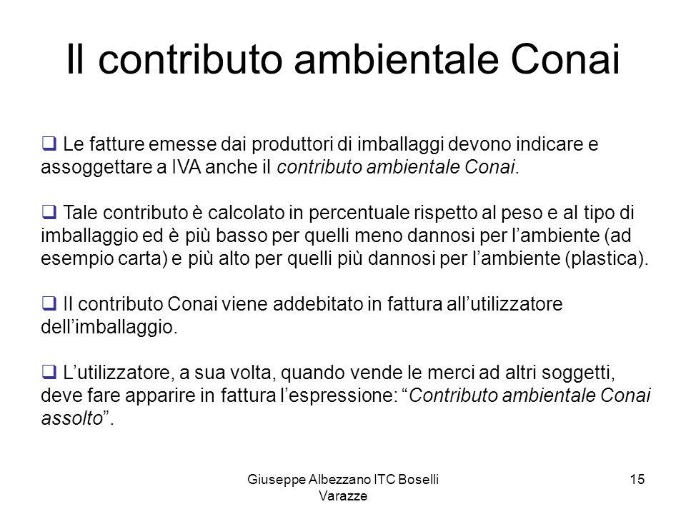 Il contributo ambientale Conai