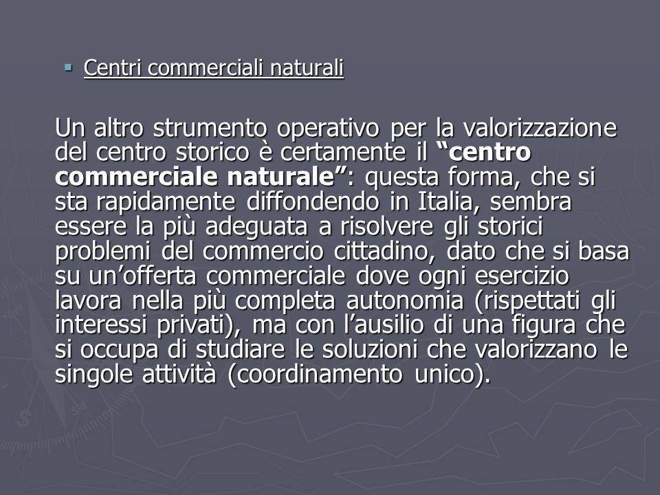Centri commerciali naturali