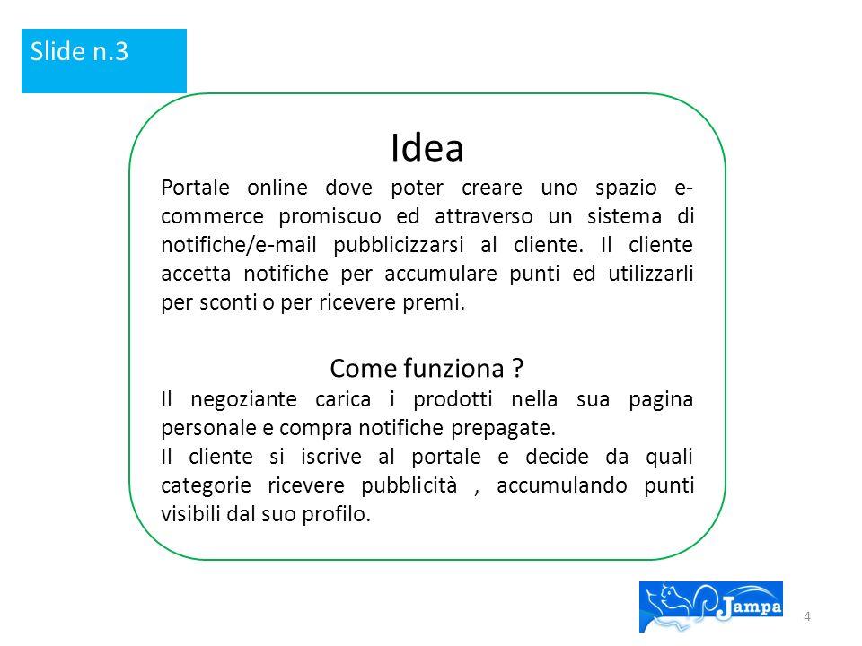 Idea Slide n.3 Come funziona