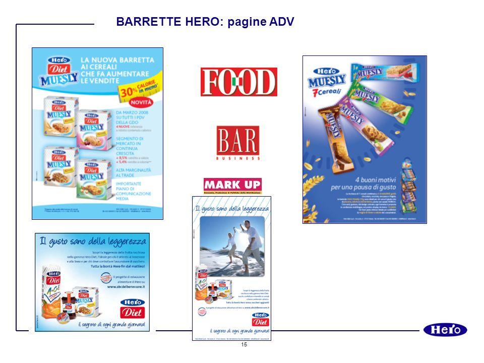 BARRETTE HERO: pagine ADV
