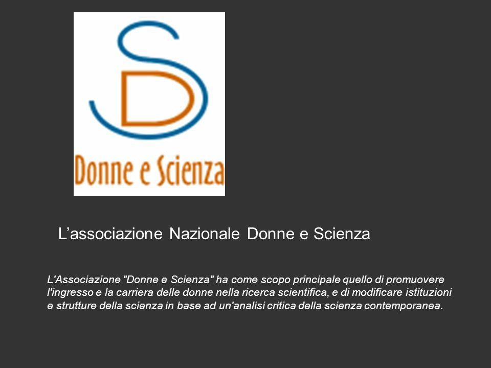 L'associazione Nazionale Donne e Scienza