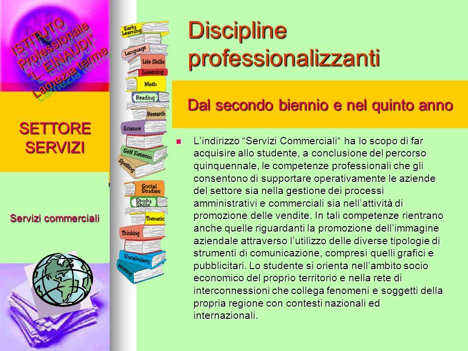 Discipline professionalizzanti