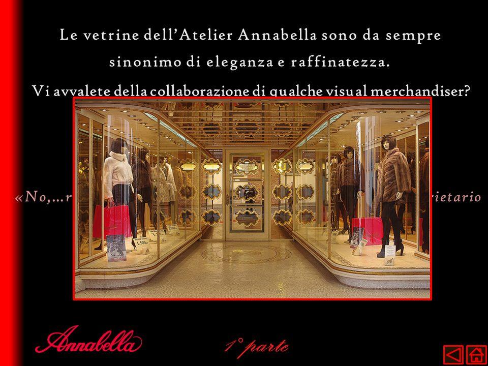 1° parte Le vetrine dell'Atelier Annabella sono da sempre