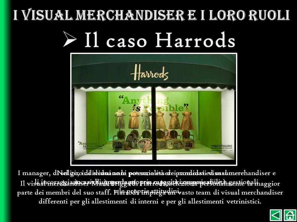 I visual merchandiser e i loro ruoli
