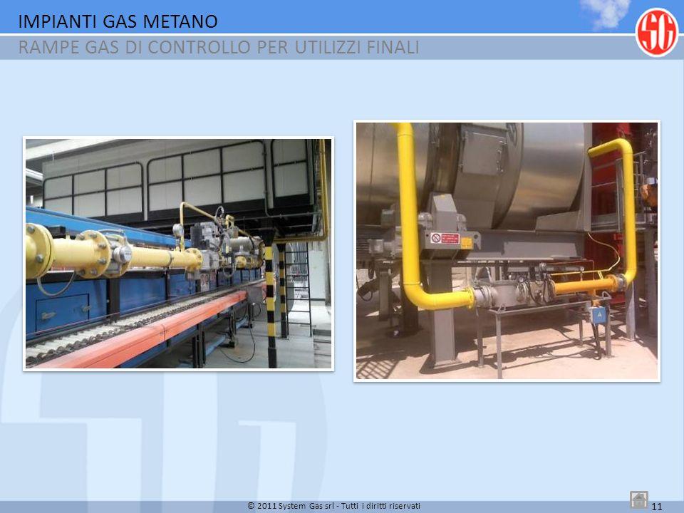RAMPE GAS DI CONTROLLO PER UTILIZZI FINALI