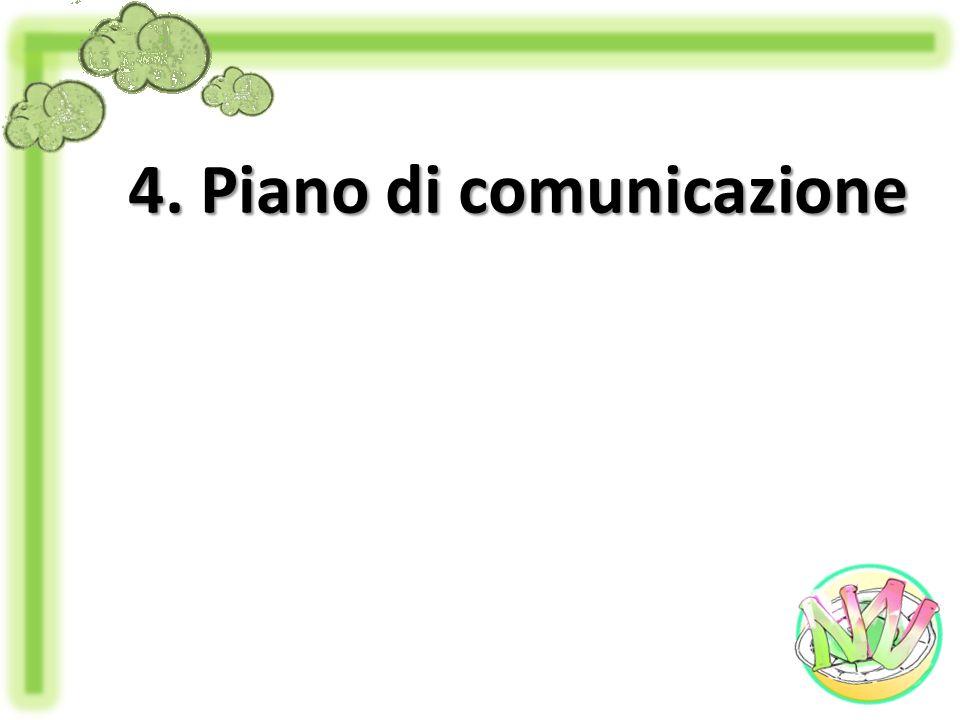 4. Piano di comunicazione
