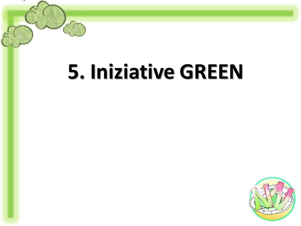 5. Iniziative GREEN
