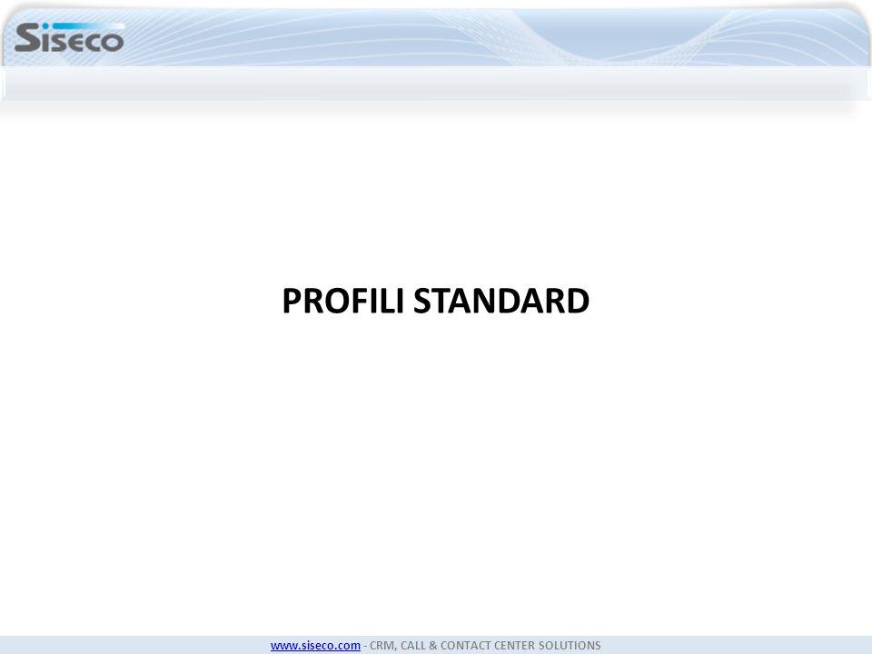 PROFILI STANDARD