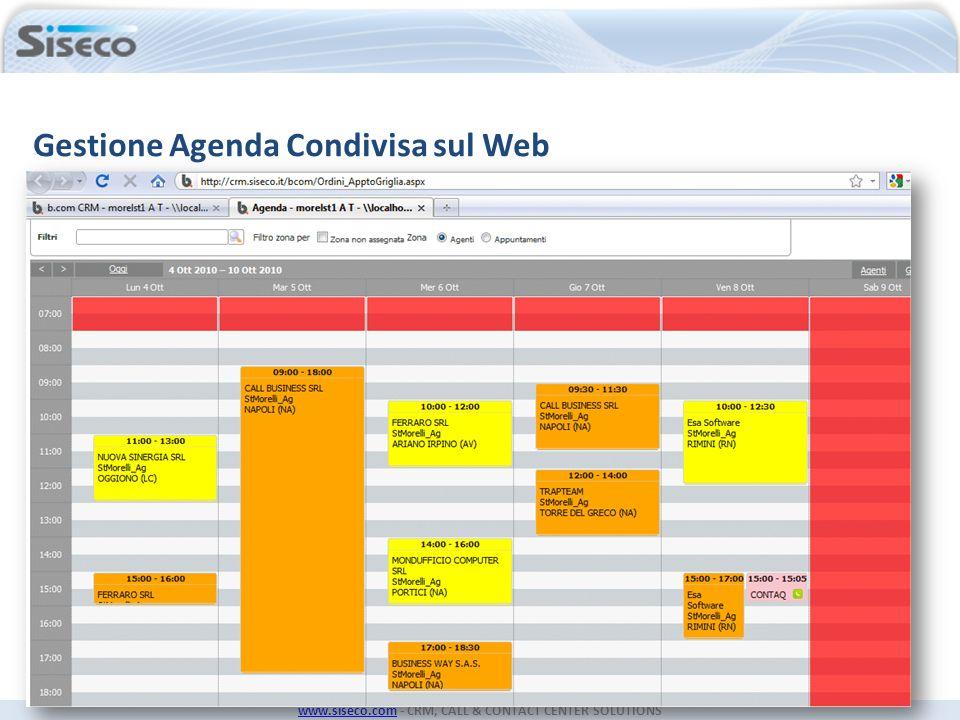 Gestione Agenda Condivisa sul Web