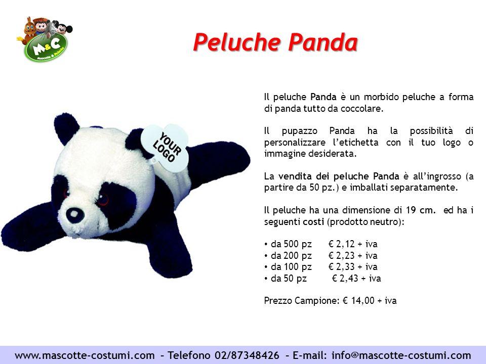 Peluche Panda Il peluche Panda è un morbido peluche a forma di panda tutto da coccolare.