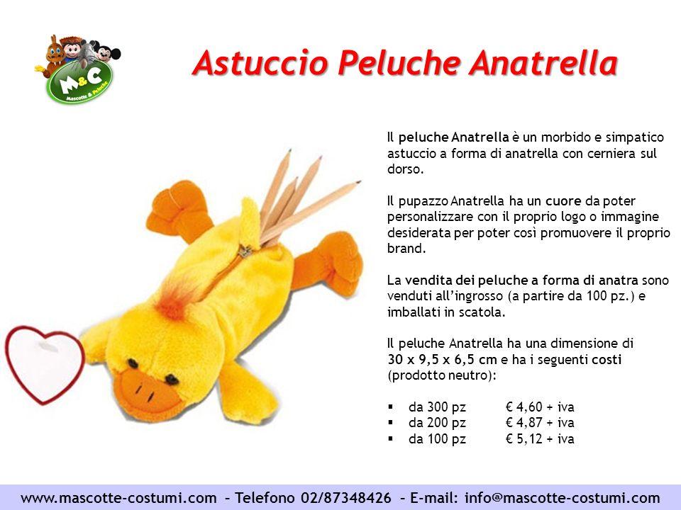Astuccio Peluche Anatrella