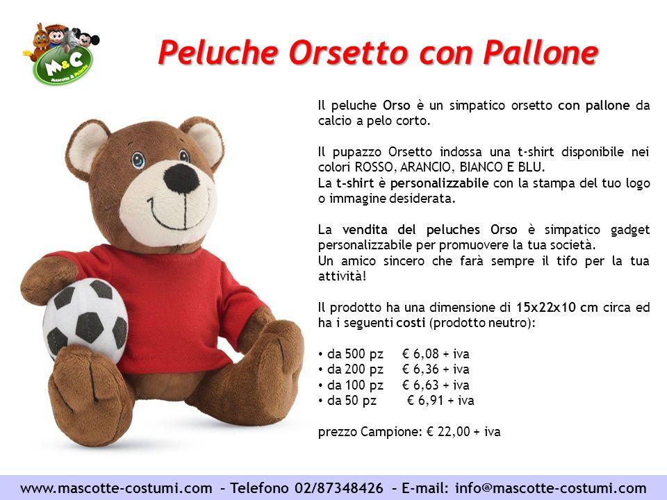 Peluche Orsetto con Pallone