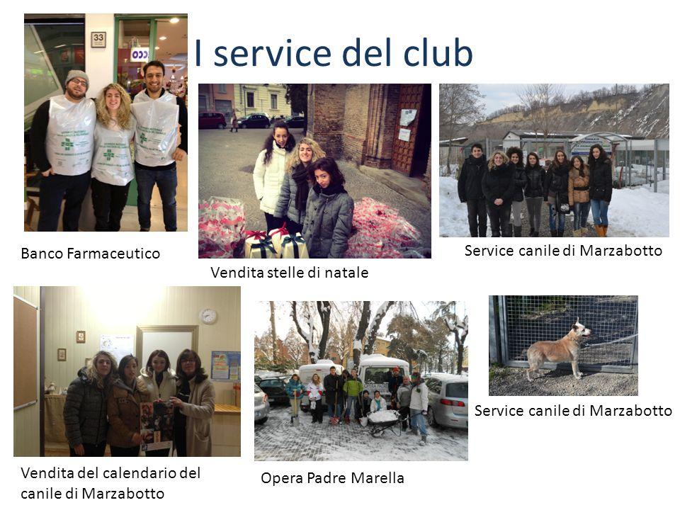 I service del club Service canile di Marzabotto Banco Farmaceutico