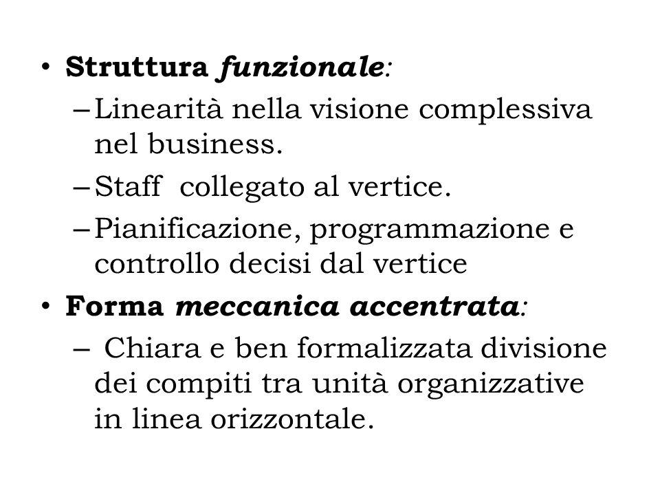 Struttura funzionale: